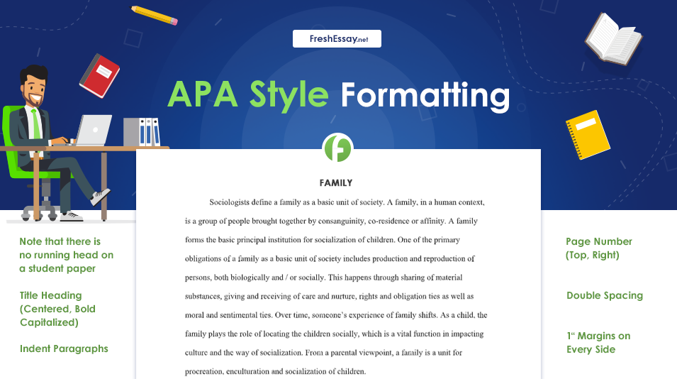 APA Style Formatting College Paper freshessay.net