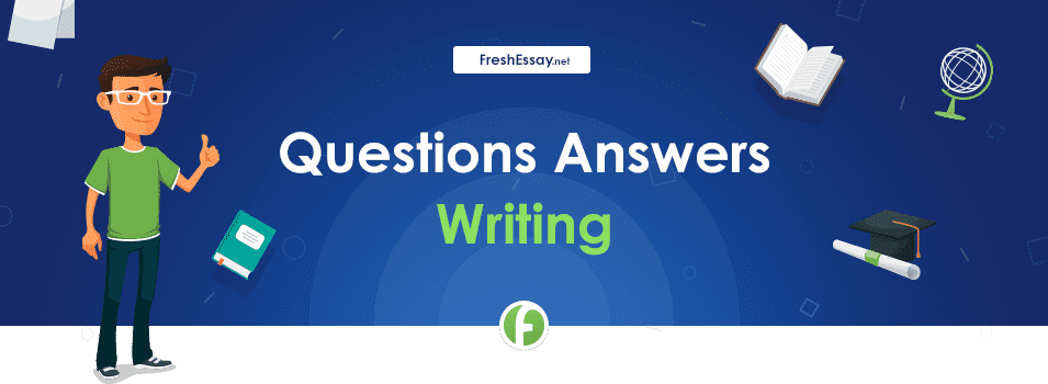 Questions Answers Writing Service