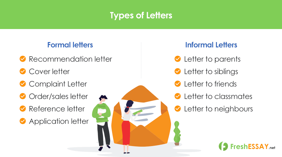 Types of Letter at FreshEssay.net Letter Writing Service