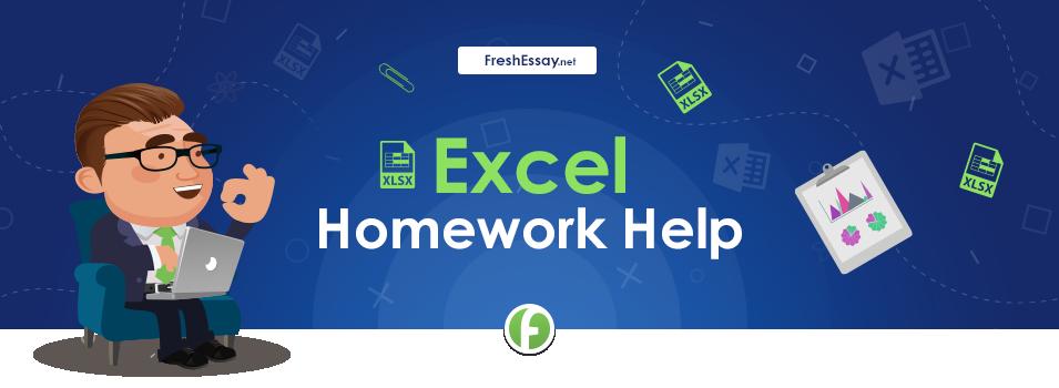 Get Professional Excel Homework Help Freshessay