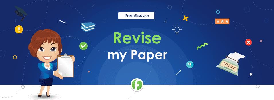 Revise a Paper Service