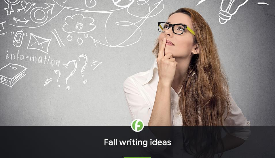 Fall Writing Ideas freshessay.net